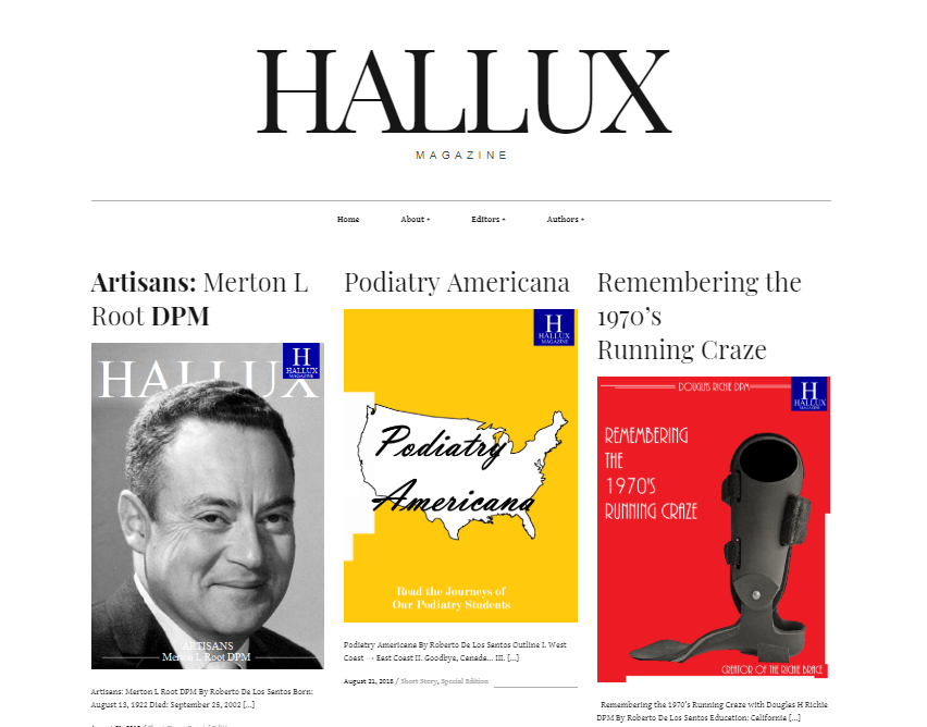 HalluxMag cover page