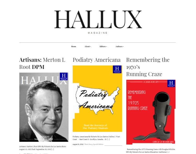 HalluxMag cover page